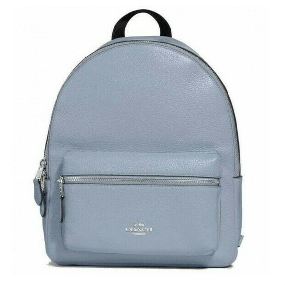 Coach Handbags - Coach F30550 Medium Charlie Backpack Steel Blue